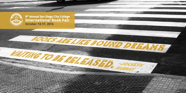 SD Book Fair Postcard