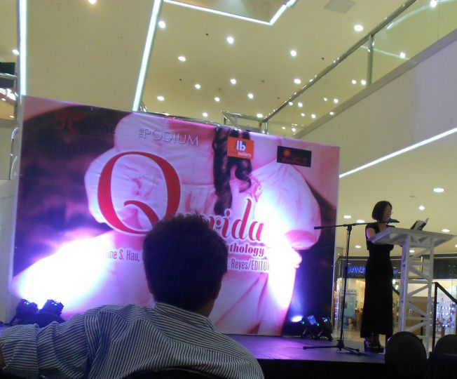 The Querida launch was held at the atrium of Podium Mall.