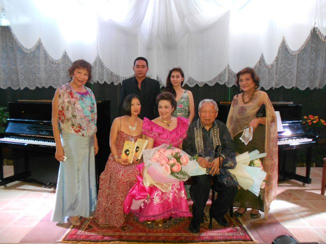 Sonia, two pianists and The Bride