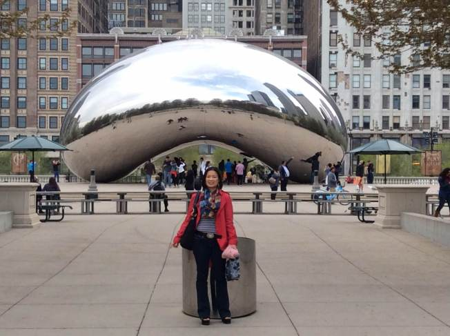 Bean there,  done that in Chicago's Millennium Park