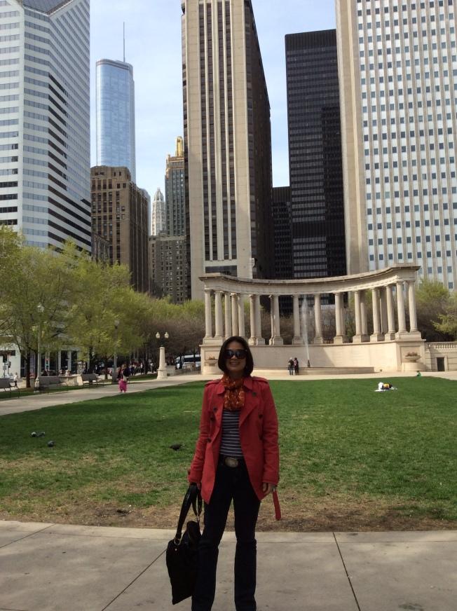 At Millenium Park