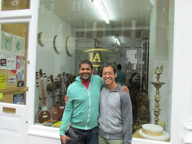 By Edgeware road, one locus for of Middle Eastern and South Asian shops and restaurants