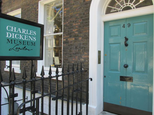 The Dickens museum is  in one of the houses that Charles Dickens owned in London