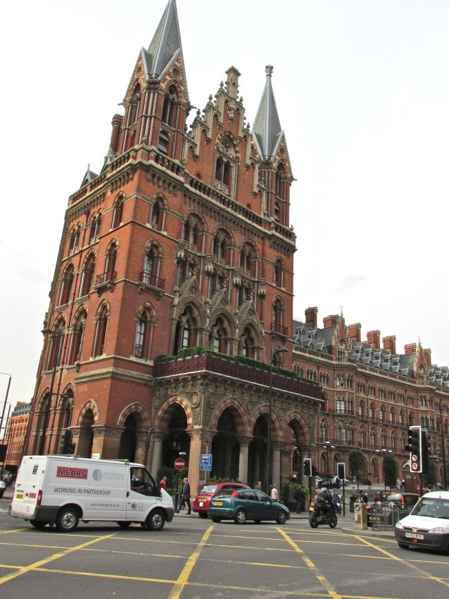 After nearly 2 decades we returned to King's Cross
