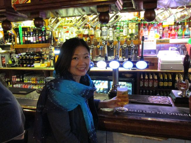 Toasting San Miguel in London