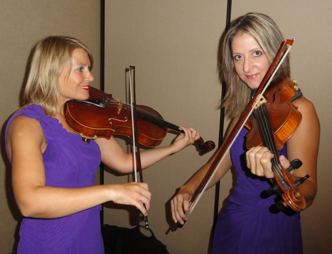 Quartet Nouveau musicians Annabelle and Kim are superb performers and offer violin and viola lessons to kids all over San Diego