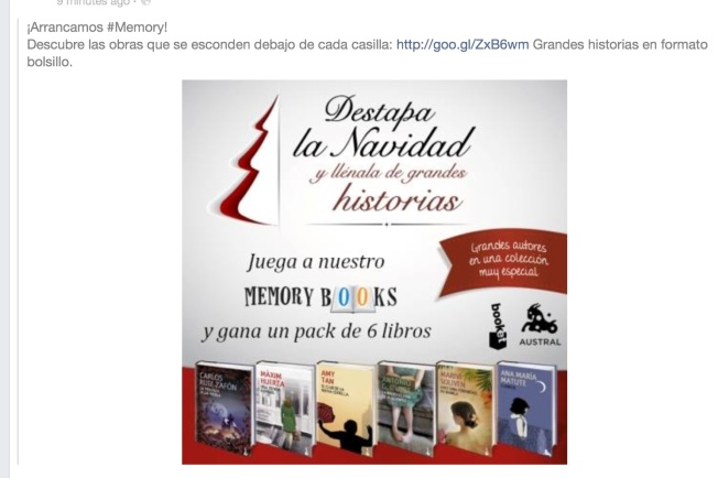 Grupo Planeta includes me in a stellar line-up of authors