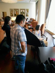 Asia Lifestyle shoot  at Shangri-La Makati